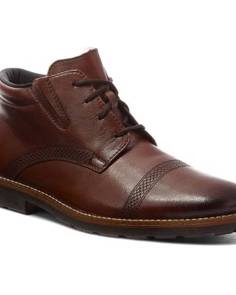 Hnedé topánky Rieker