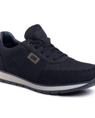 Tmavomodré topánky Rieker
