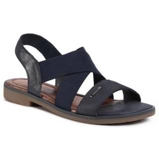 Sandále  WI16-DOROTHY-01 nubuk,koža(useň) leštená