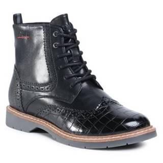 Šnurovacia obuv s.Oliver RED LABEL 5/5-25465/25 Ekologická koža/-Ekologická koža