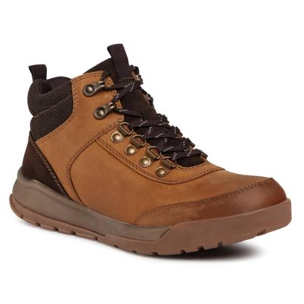 GO SOFT Šnurovacia obuv GO SOFT MI07-B06-A835-06 Prírodná koža(useň) - Zamš
