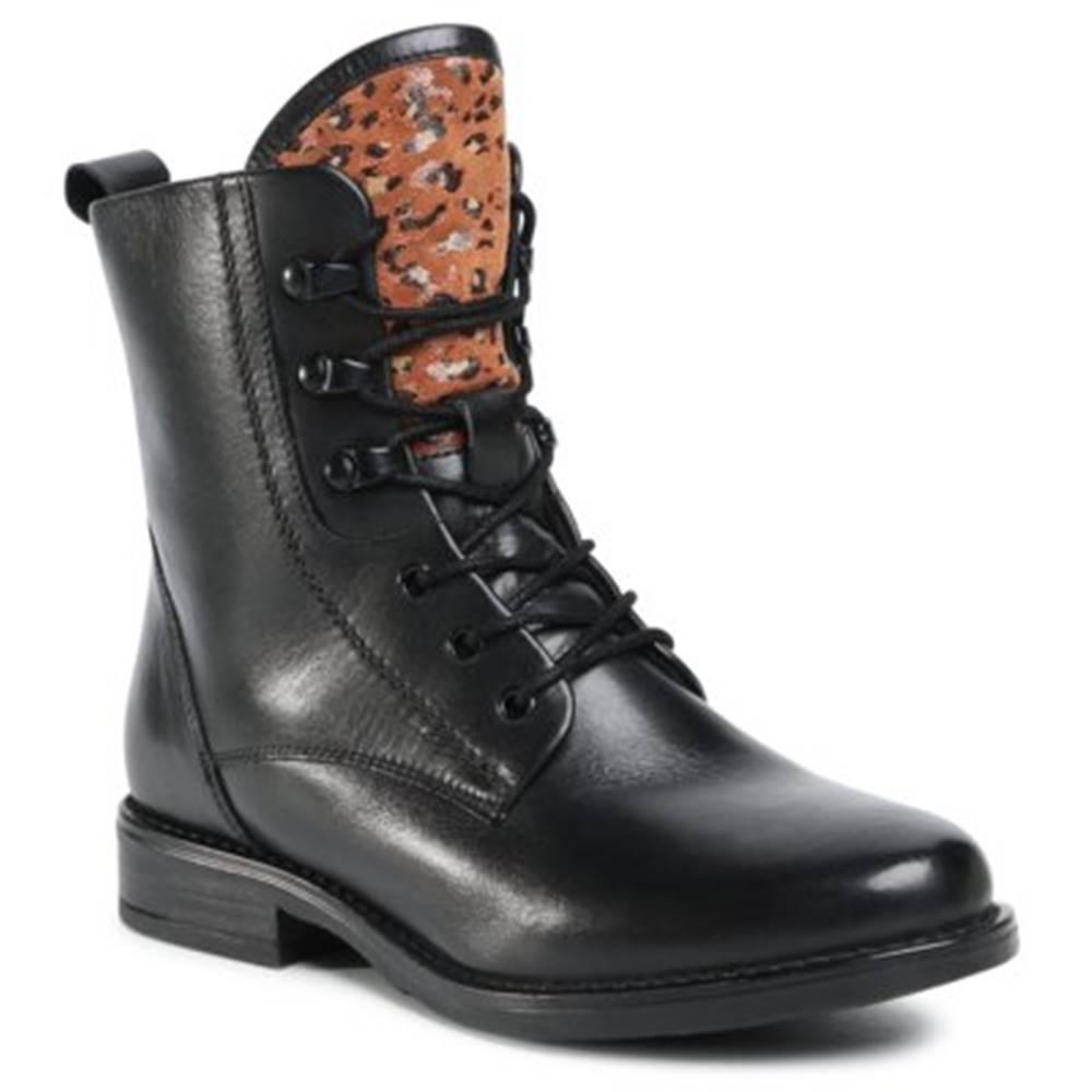 Lasocki Šnurovacia obuv Lasocki WI16-ALBA3-04 Prírodná koža(useň) - Lícova