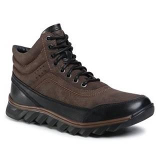 Šnurovacia obuv Lanetti MBS-RJUKA-01 Ekologická koža/-Ekologická koža