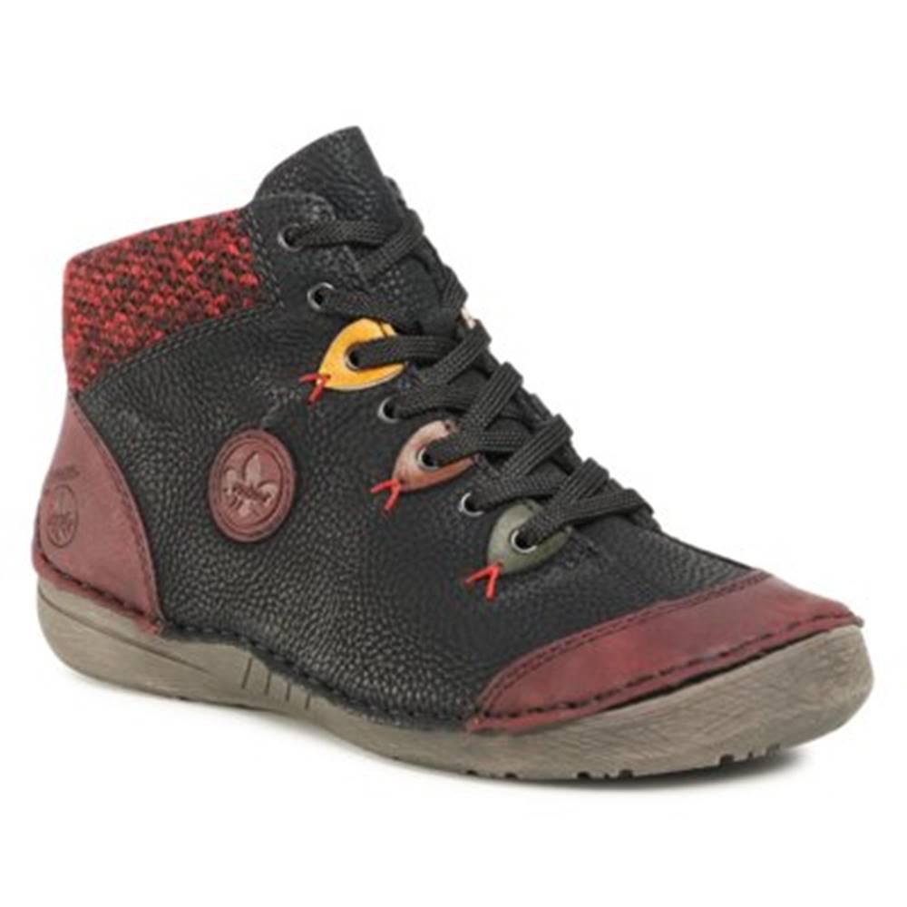 Rieker Šnurovacia obuv Rieker 52513-36 Ekologická koža/-Ekologická koža