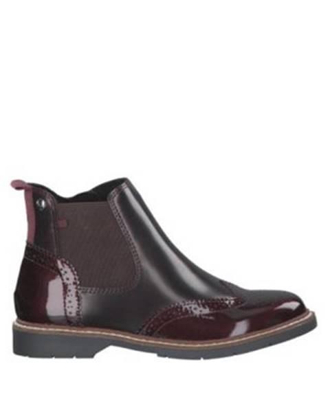 Bordové topánky s.Oliver RED LABEL
