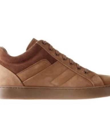 Šnurovacia obuv Gino Rossi MI07-A973-A802-10 Prírodná koža(useň) - Nubuk