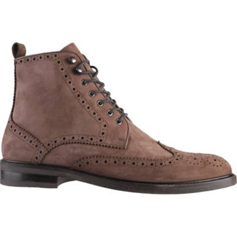 Gino Rossi Šnurovacia obuv Gino Rossi MI07-A962-A791-17 Prírodná koža(useň) - Nubuk