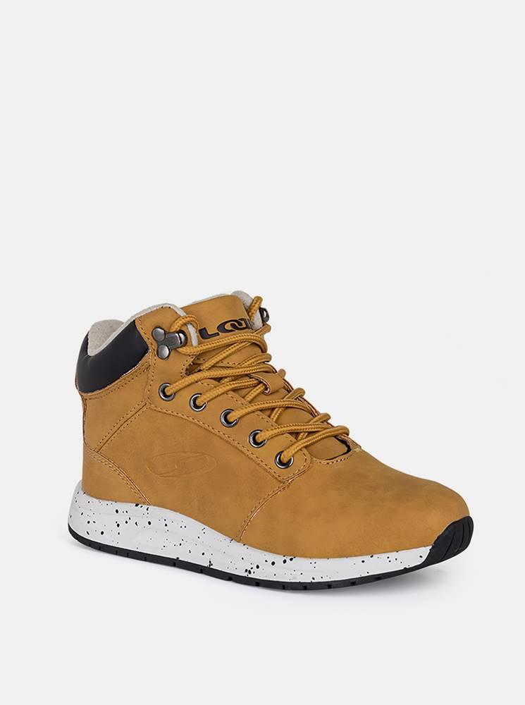 loap Hnedé chlapečenské zimné topánky LOAP