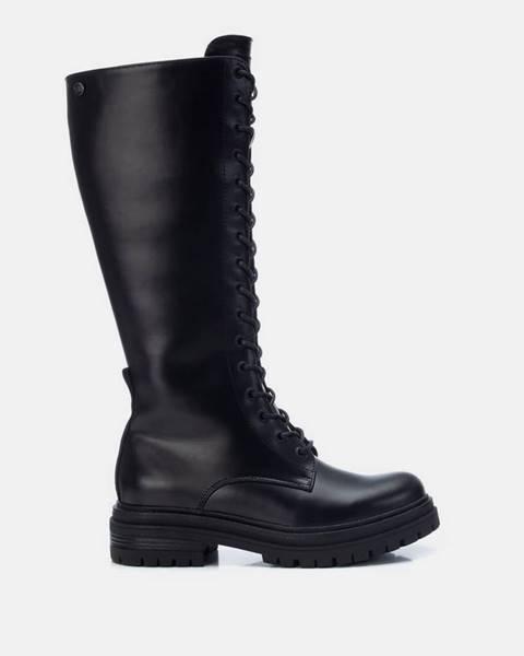 Čierne čižmy Xti