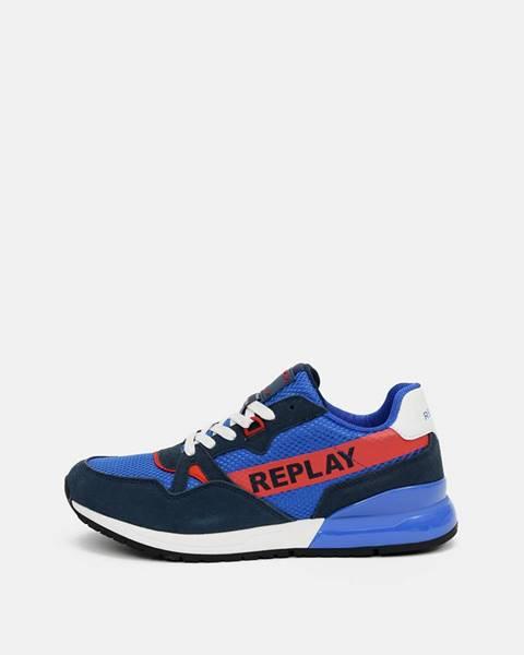 Modré tenisky Replay