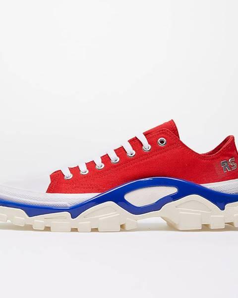 Červené tenisky adidas Raf Simons