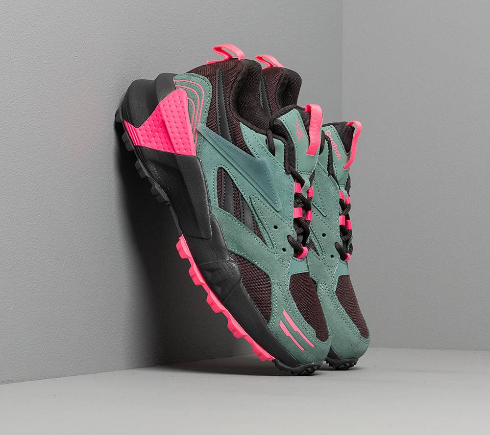 Reebok Reebok Aztrek Double Mix Trail Green Slate/ True Grey 8/ Solar Pink