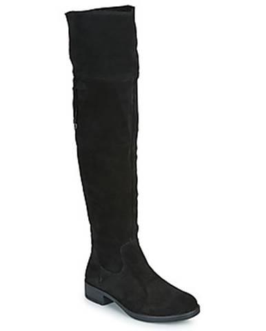 Čierne čižmy Tamaris