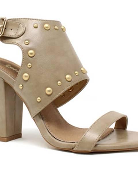sandále Gold gold