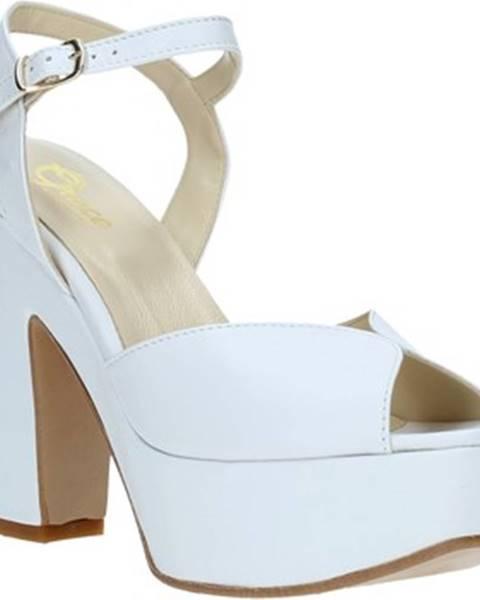 Biele sandále Grace Shoes