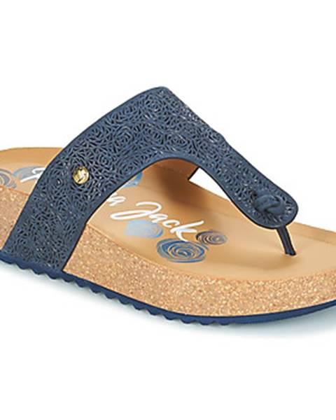 Modré topánky Panama Jack