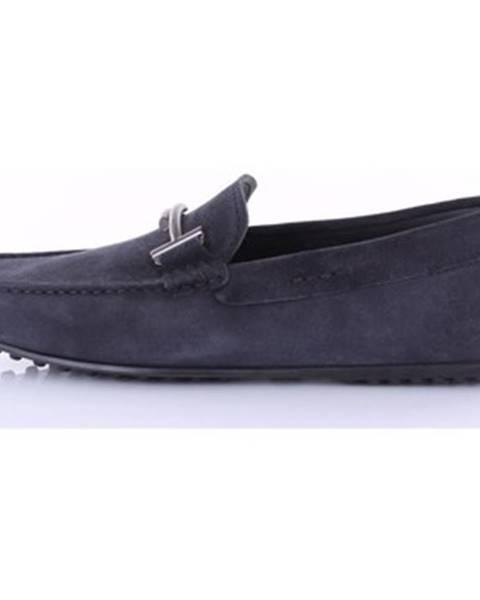 Modré topánky Tod's