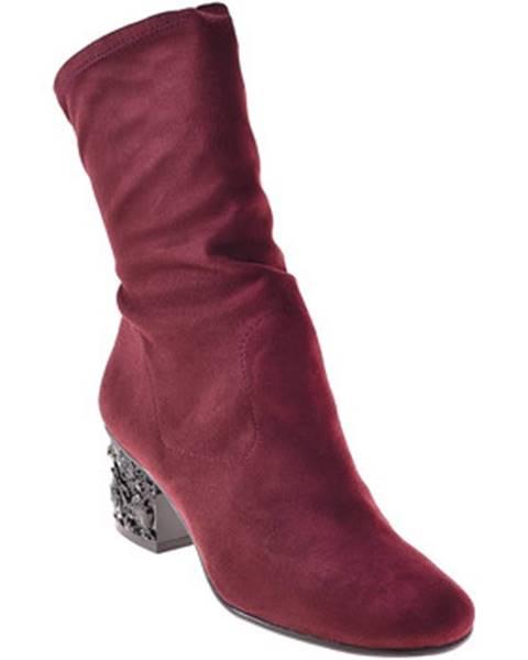 Červené topánky Elvio Zanon