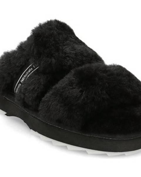 Čierne papuče EMU