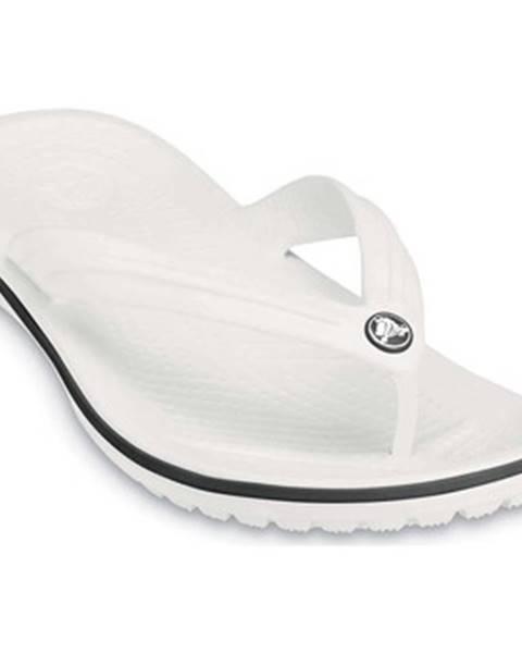 Biele topánky Crocs