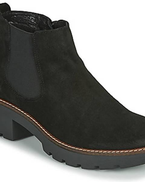 Čierne topánky Casual Attitude