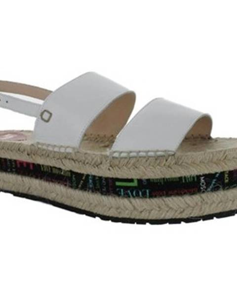 Viacfarebné sandále Love Moschino