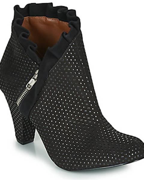 Čierne topánky Cristofoli