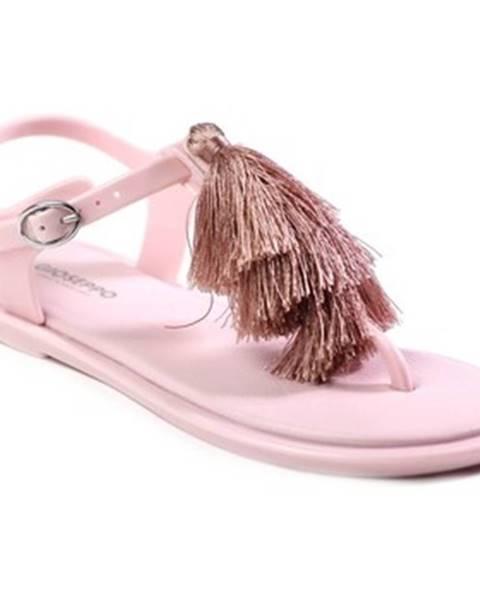 Ružové sandále Gioseppo