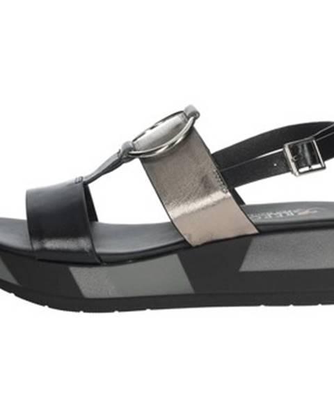Čierne sandále Repo