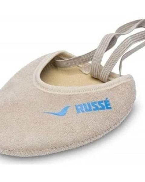 Béžové balerínky Russe