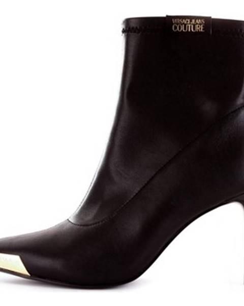 Čierne topánky Versace