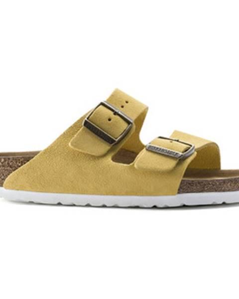 Žlté topánky Birkenstock