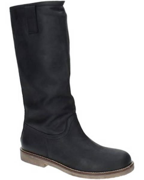 Čierne čižmy Grace Shoes