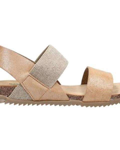 Hnedé sandále Bionatura