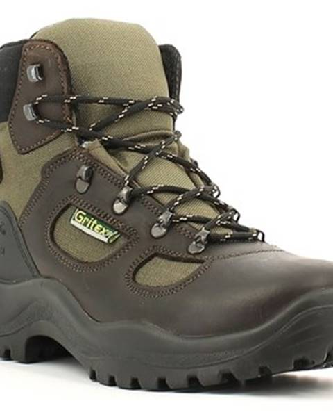 Hnedé topánky Grisport