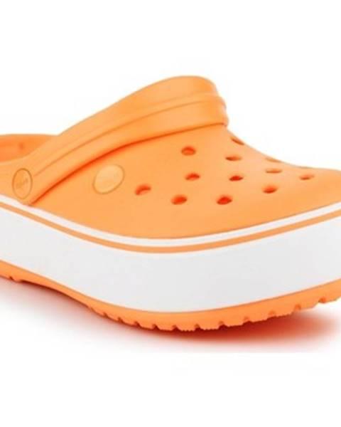 Oranžové topánky Crocs