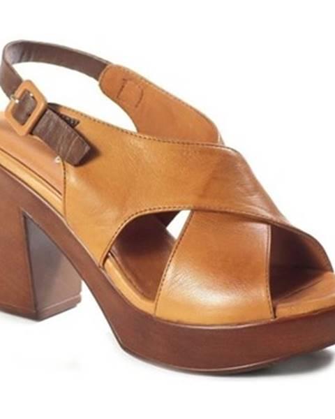 Hnedé sandále Venezia
