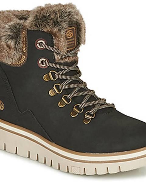 Čierne topánky Dockers by Gerli