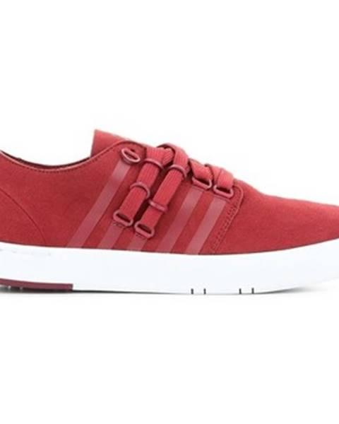 Červené topánky K-Swiss