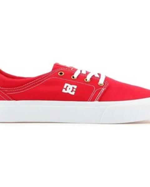 Červené tenisky DC Shoes