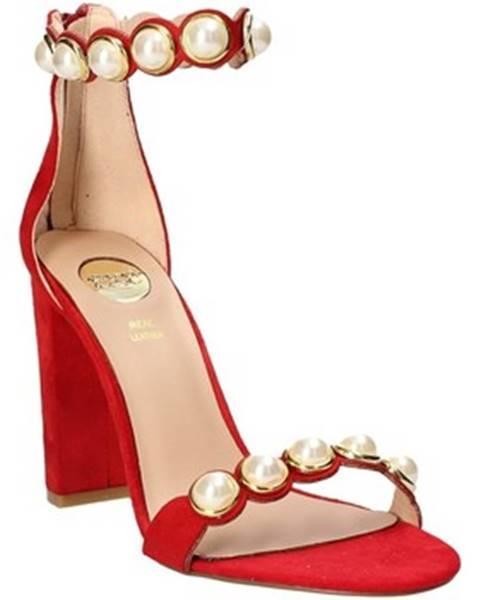 Červené sandále Exé Shoes