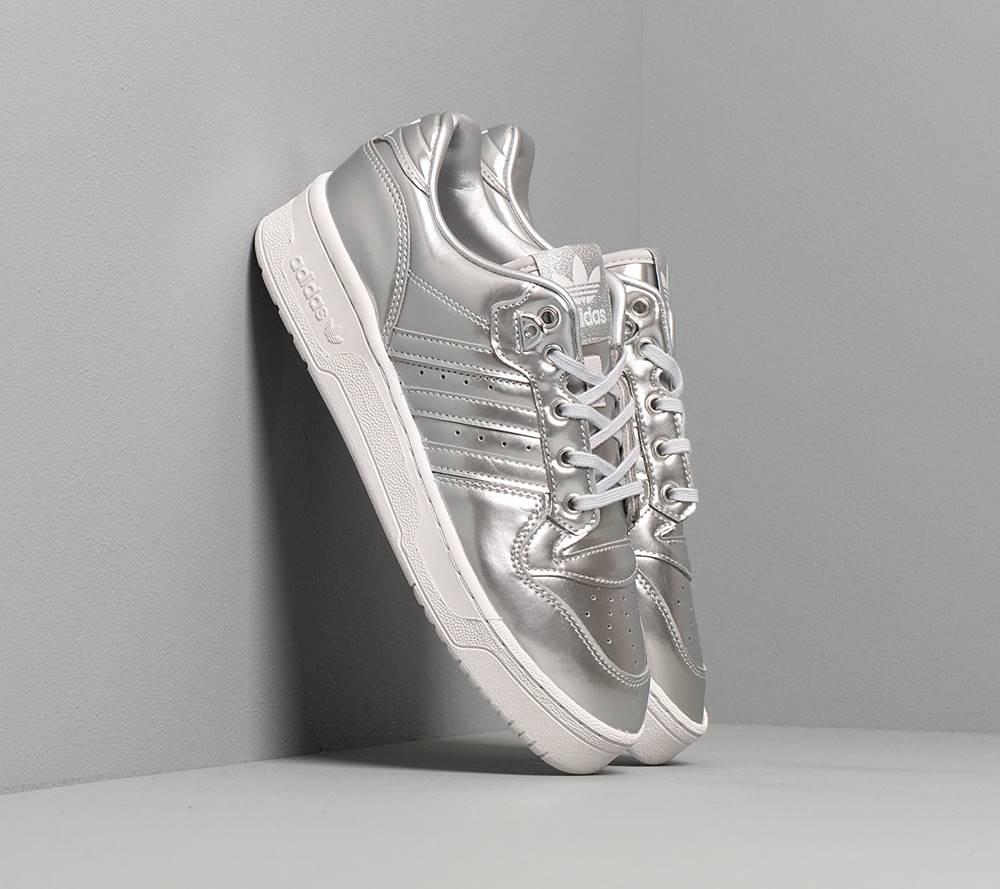 adidas Originals adidas Rivalry Low Silver Metalic/ Silver Metalic/ Crystal White