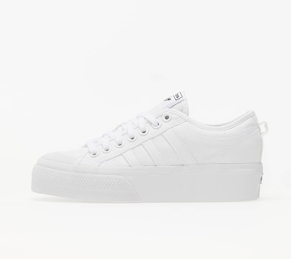 adidas Originals adidas Nizza Platform W Ftw White/ Ftw White/ Ftw White