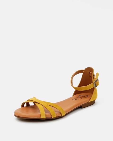 Žlté sandále OJJU