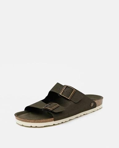Tmavozelené sandále OJJU