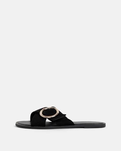Čierne papuče Dorothy Perkins