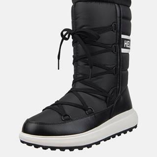 Čierne dámske zimné vodeodolné topánky HELLY HANSEN