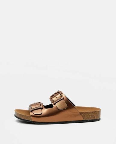 Bronzové papuče Scholl