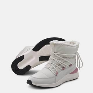 Krémové dámske zimné topánky Puma Adela