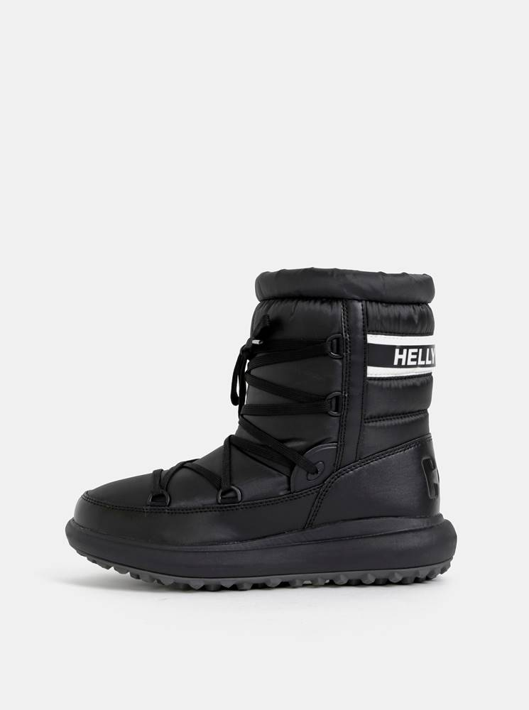 Helly Hansen Čierne dámskde vodeodolné snehule HELLY HANSEN Isolabella